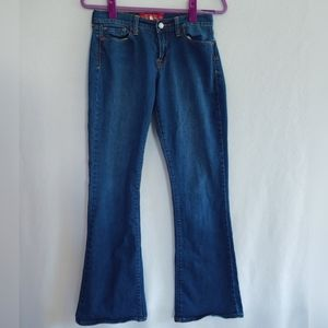 Lucky Brand Sofia Boot  Blue Jeans  Size 6
